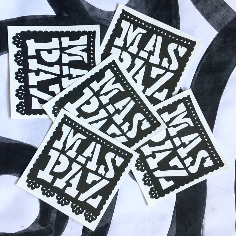 Image of MasPaz Sticker Pack