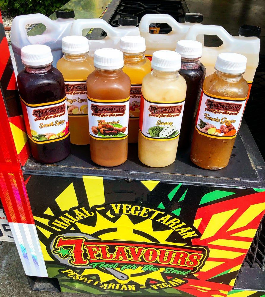 Image of 7 Flavours Medicinal Organic Drinks