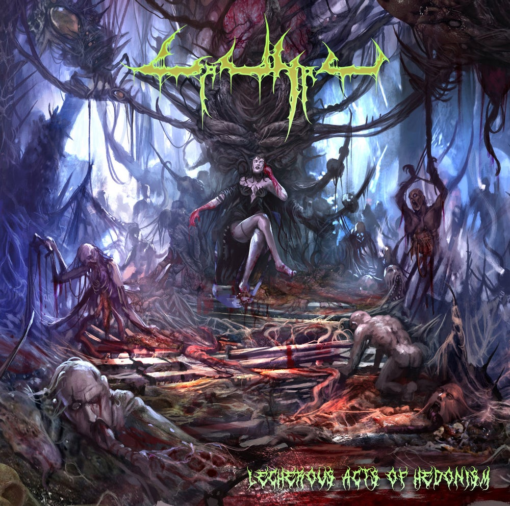 Image of CARNAL - Lecherous Acts Of Hedonism CD