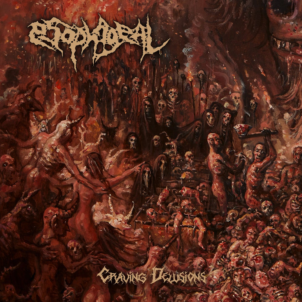 Image of ESOPHAGEAL - Craving Delusions  CD