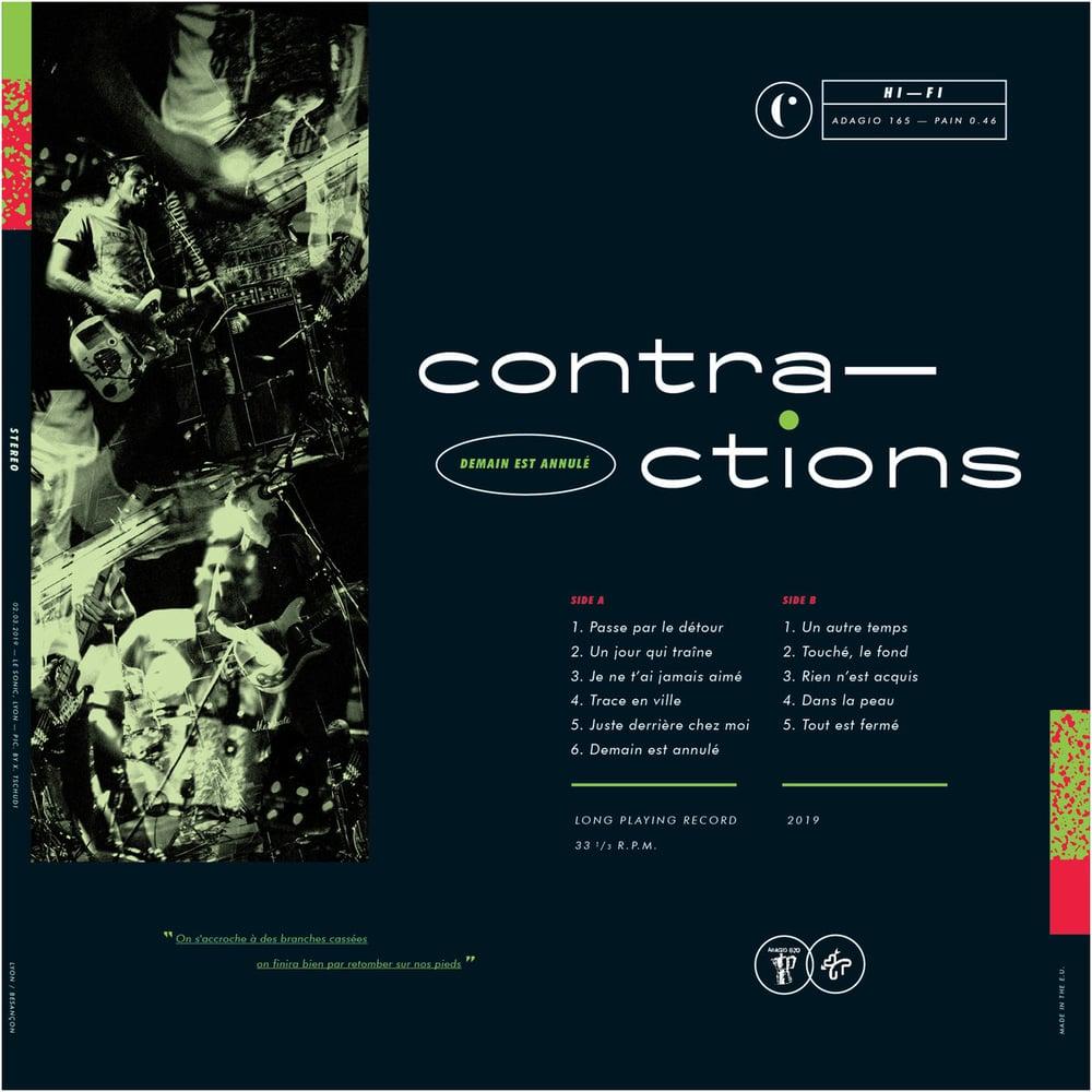 Image of CONTRACTIONS - Demain Est Annulé LP