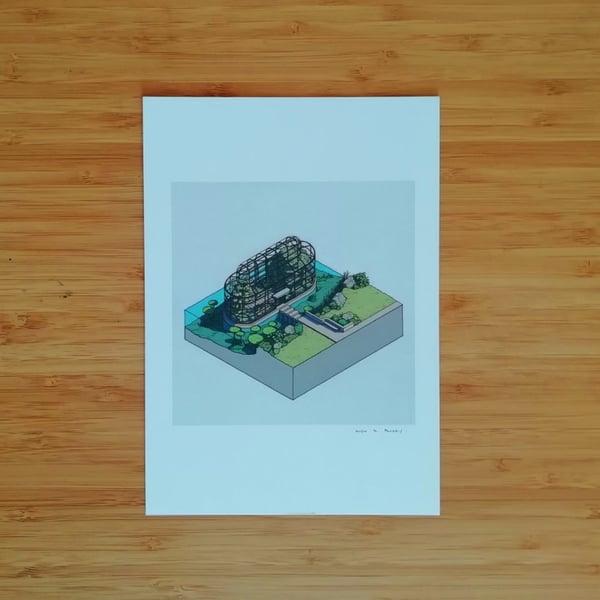 Image of Glasshouse - SIGNED PRINT