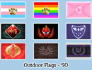 Image 1 of Non - Pony Flags