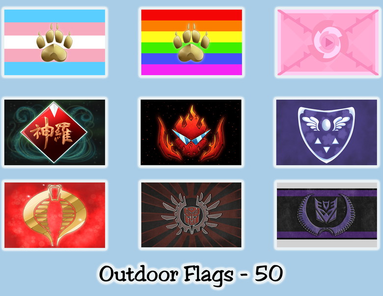 Image of Non - Pony Flags
