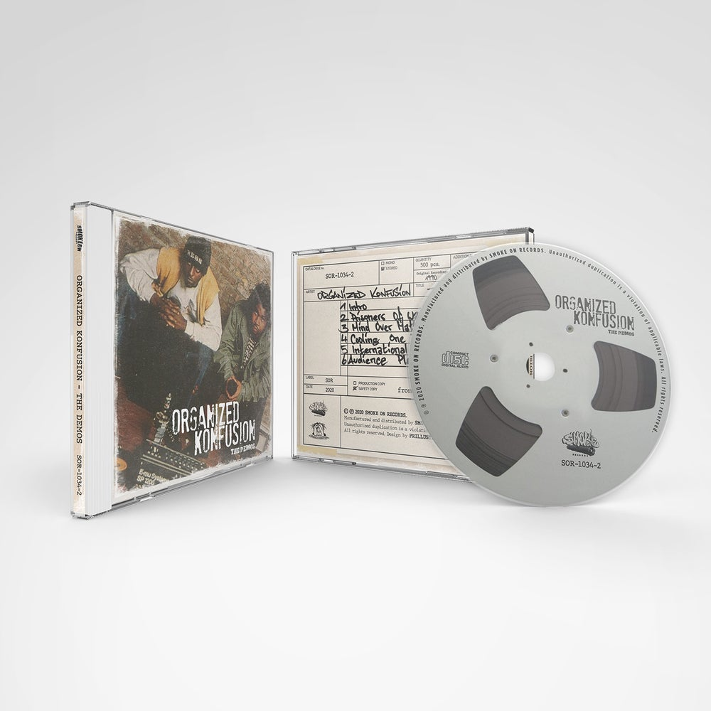 Image of Organized Konfusion - The Demos (30th Anniversary CD Edition)