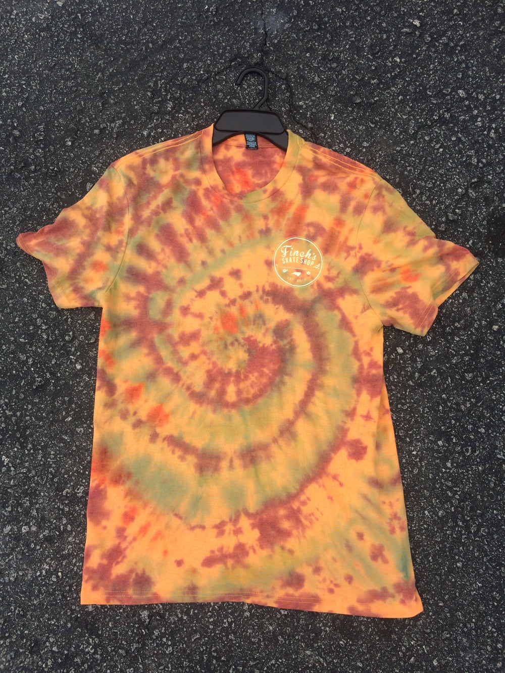 Image of Tie Dye OG Logo T-Shirt  (Each shirt is different and individual made)
