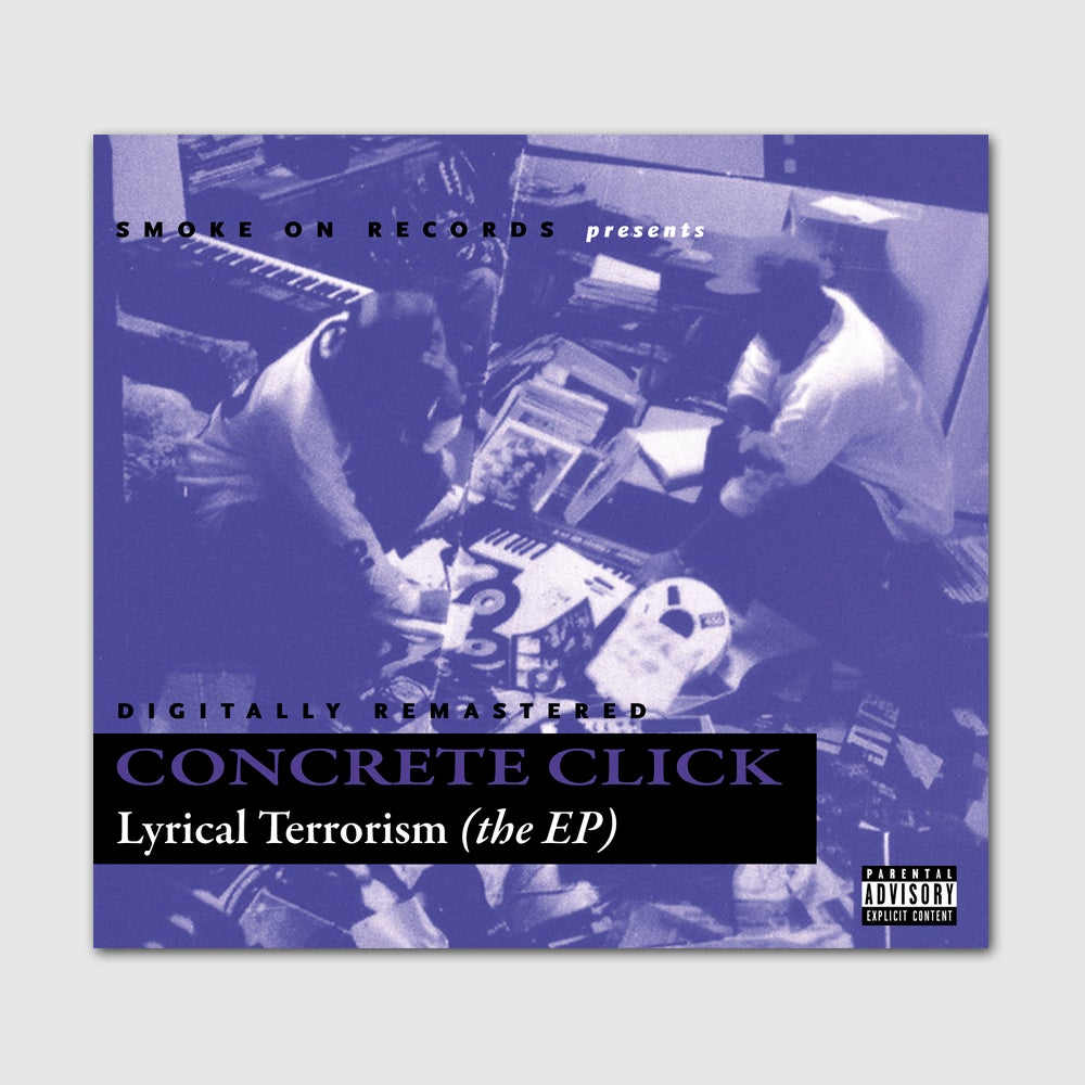 Image of Concrete Click ‎– Lyrical Terrorism The EP CD