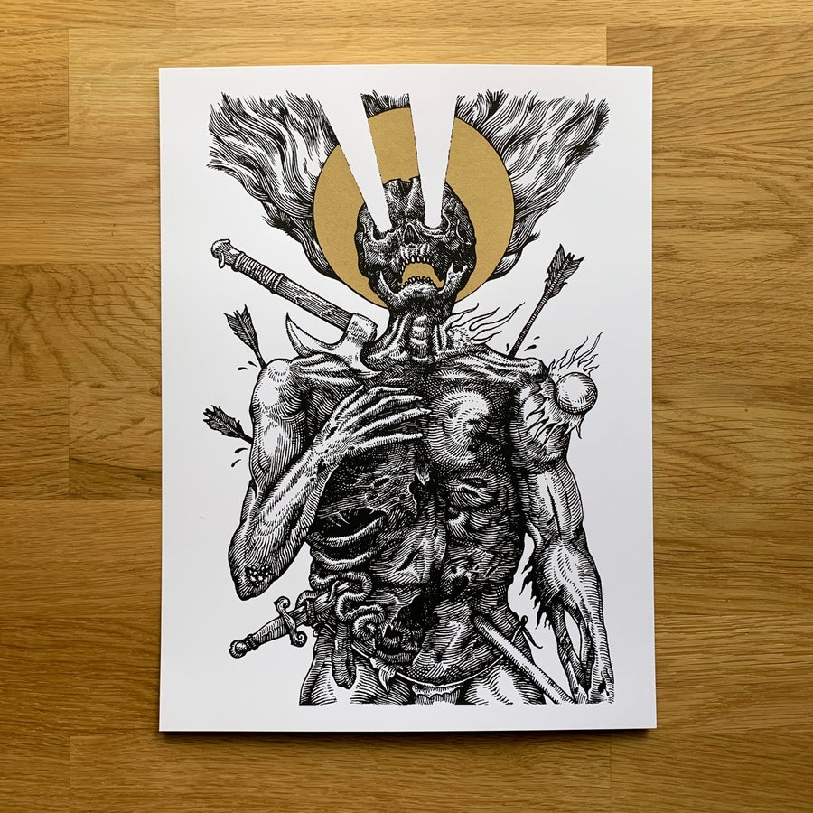 Image of Steadfast - Limited Edition Screen Print