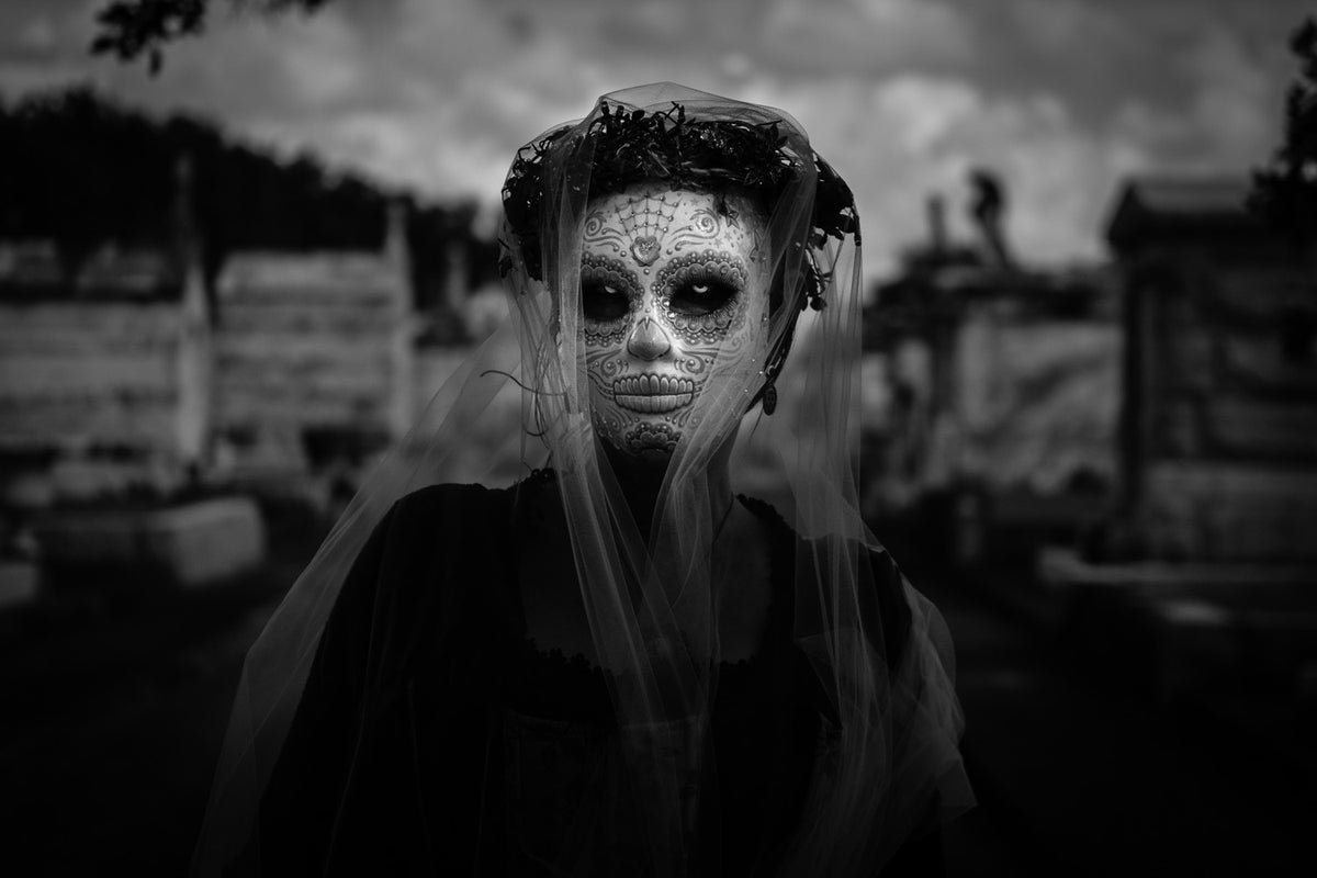 Dia De Los Muertos / New Orleans Photography Print