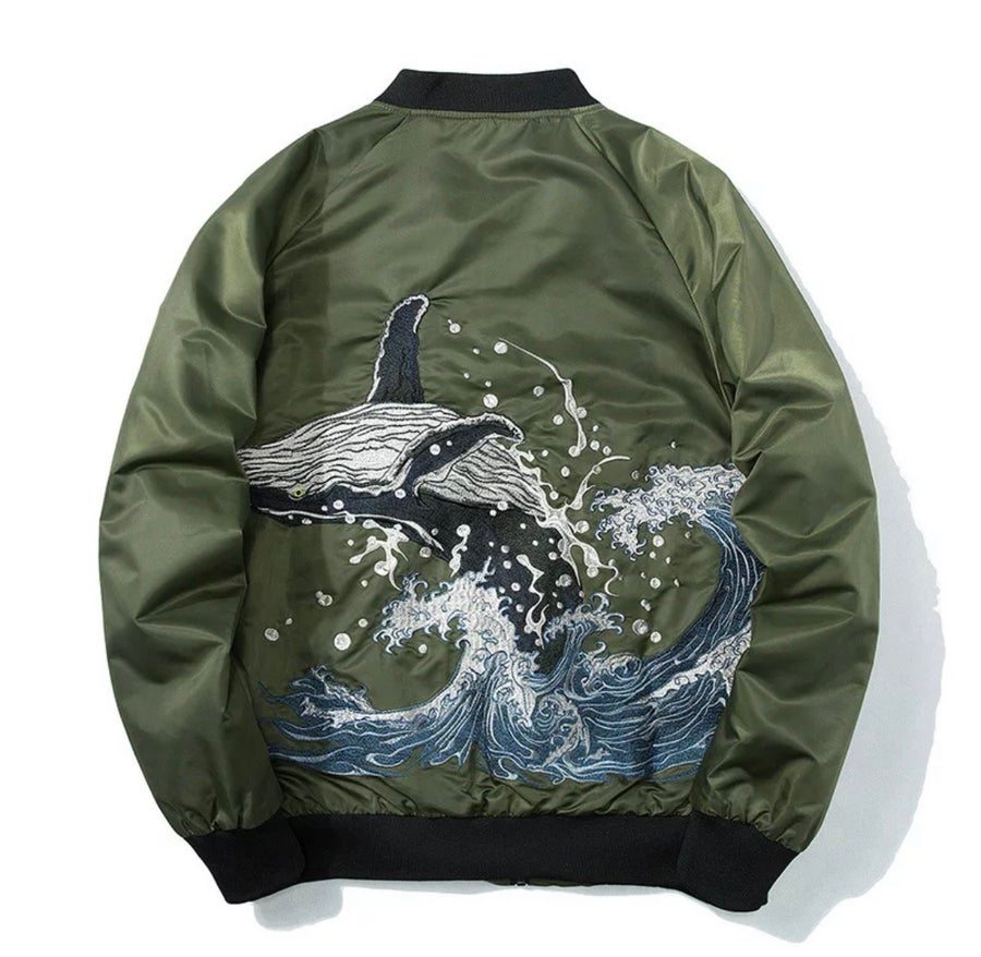 Image of Whale Bomber Jacket