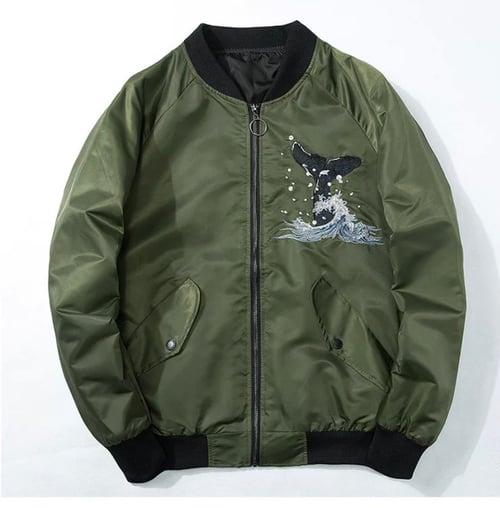 Image of Whale Bomber Jacket