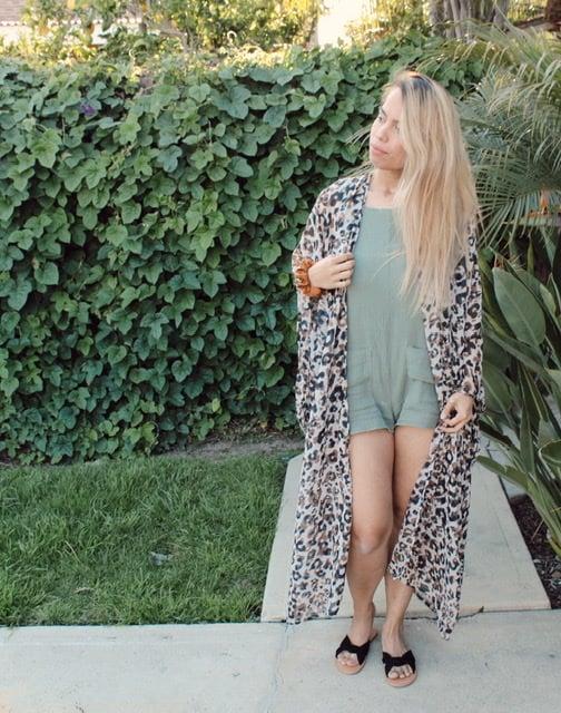 Limited Leopard Kimono