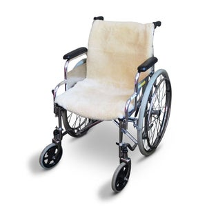"Image of MARCUS -SHEEPSKIN WHEELCHAIR FULL SEAT COVER 40"" X 18"" X 1"""