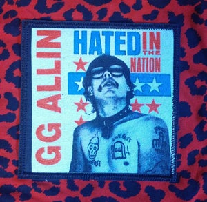 Image of Pick 1 patch full color embroidered - The Unseen, GG Allin