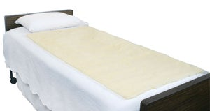 "Image of MARIE- MEDICAL SHEEPSKIN FULL PAD 30"" X 60"" - NATURAL"