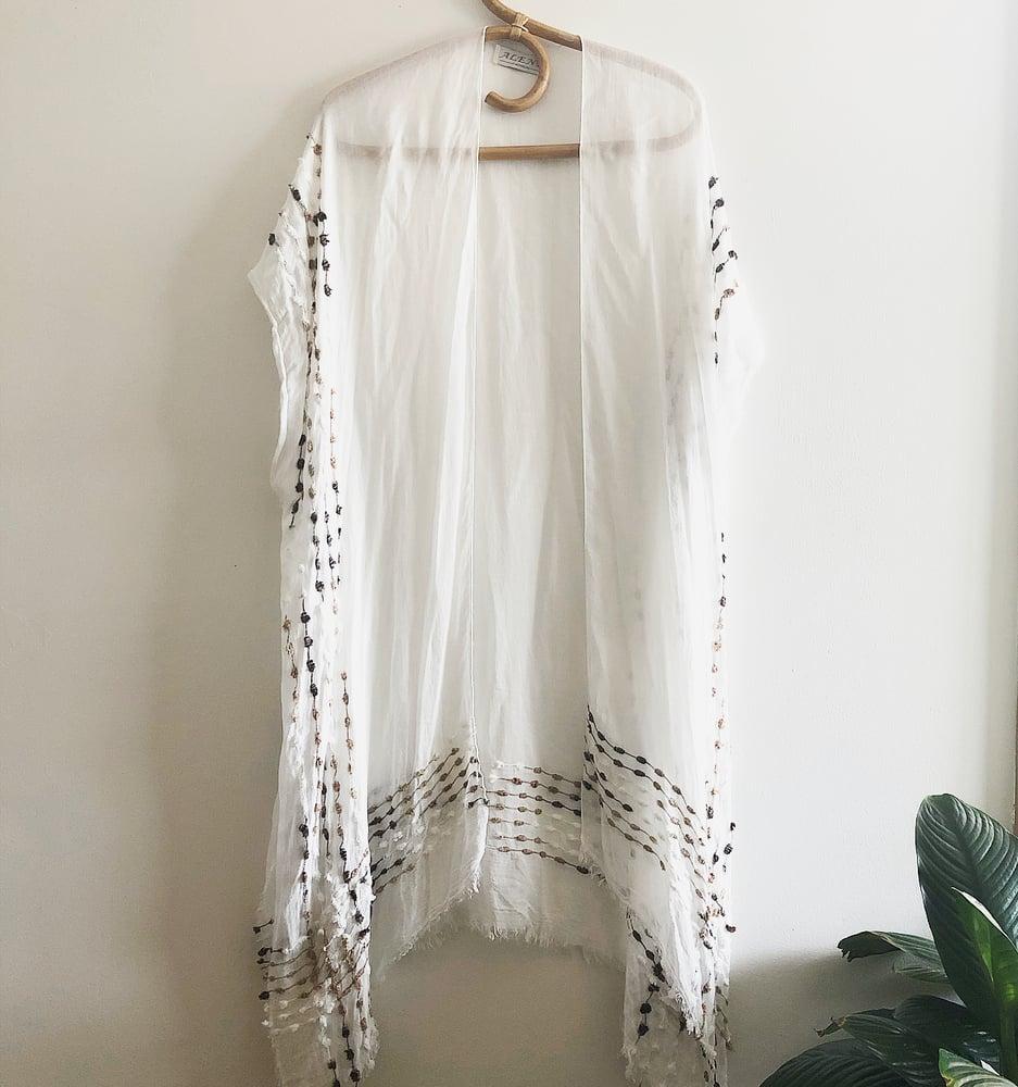 Image of Kimono White
