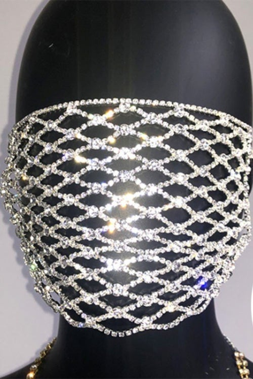 Image of Blinged Mask Cover