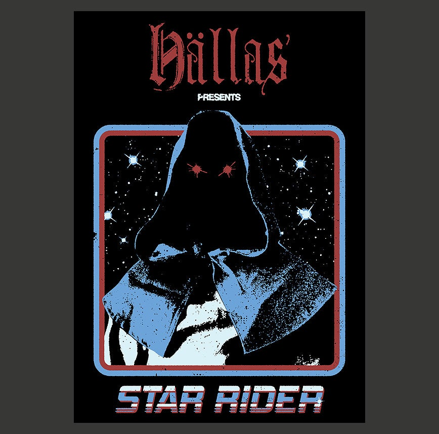 STAR RIDER POSTER A2