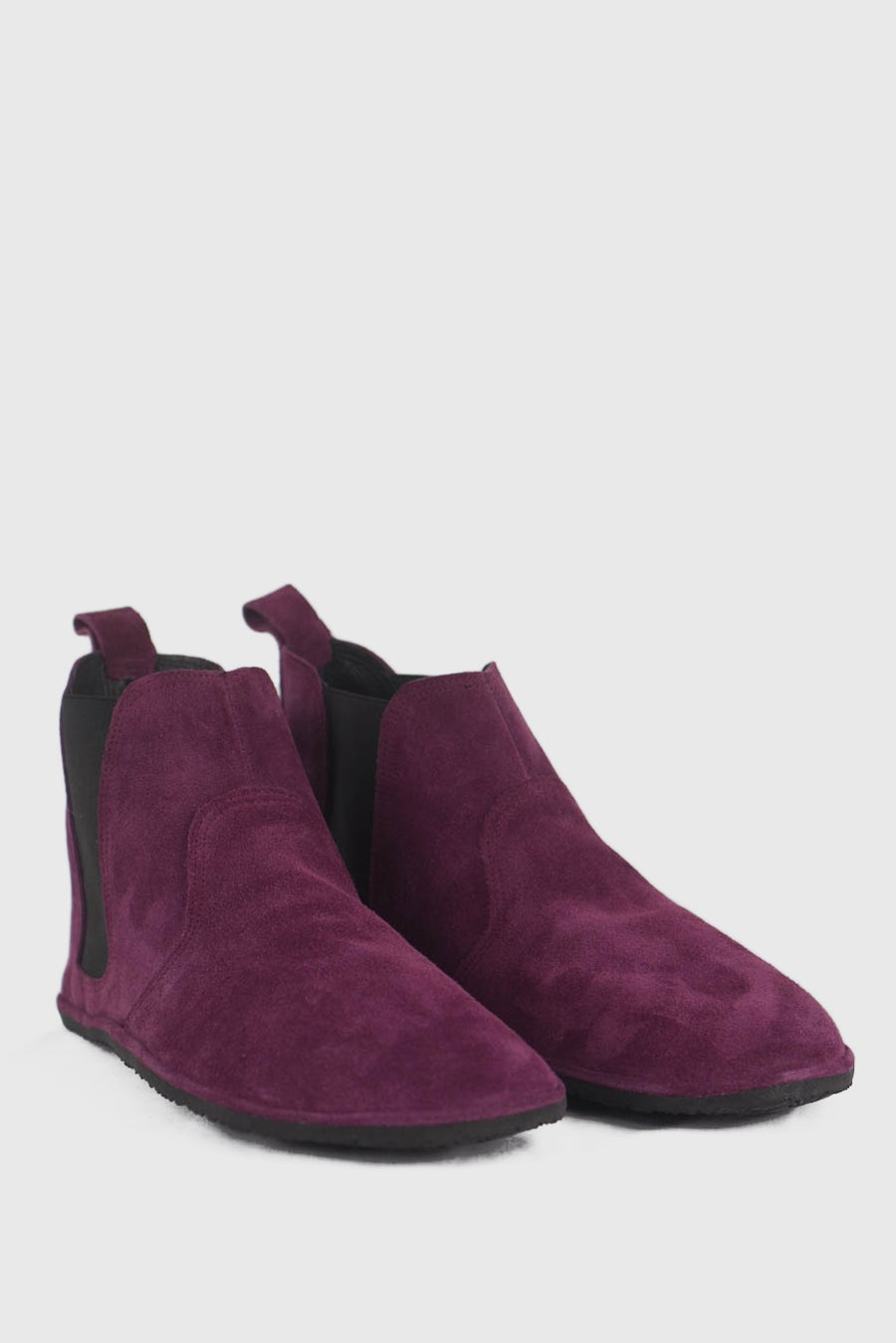 Image of Chelsea in Wine purple suede - 44.5 EU