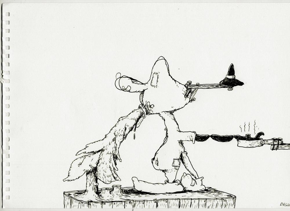 Image of Drawing no. 100