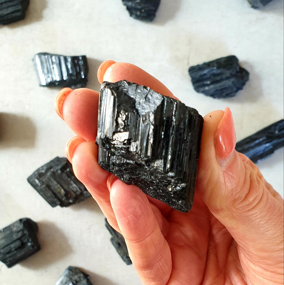 Image of BLACK TOURMALINE CHUNKS