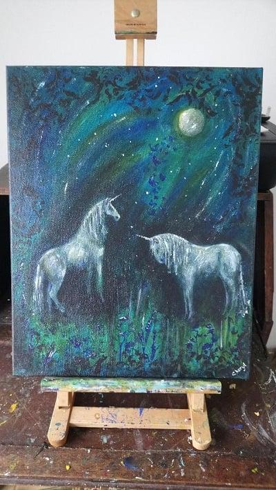 Image of Midnight unicorns