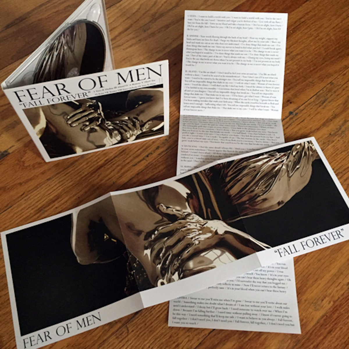 Image of Fear of Men - 'Fall Forever' CD