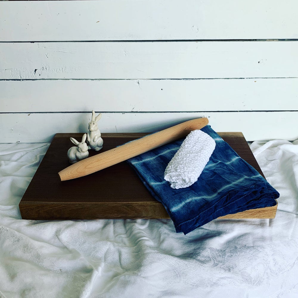 Image of Indigo Flour Sack Towels