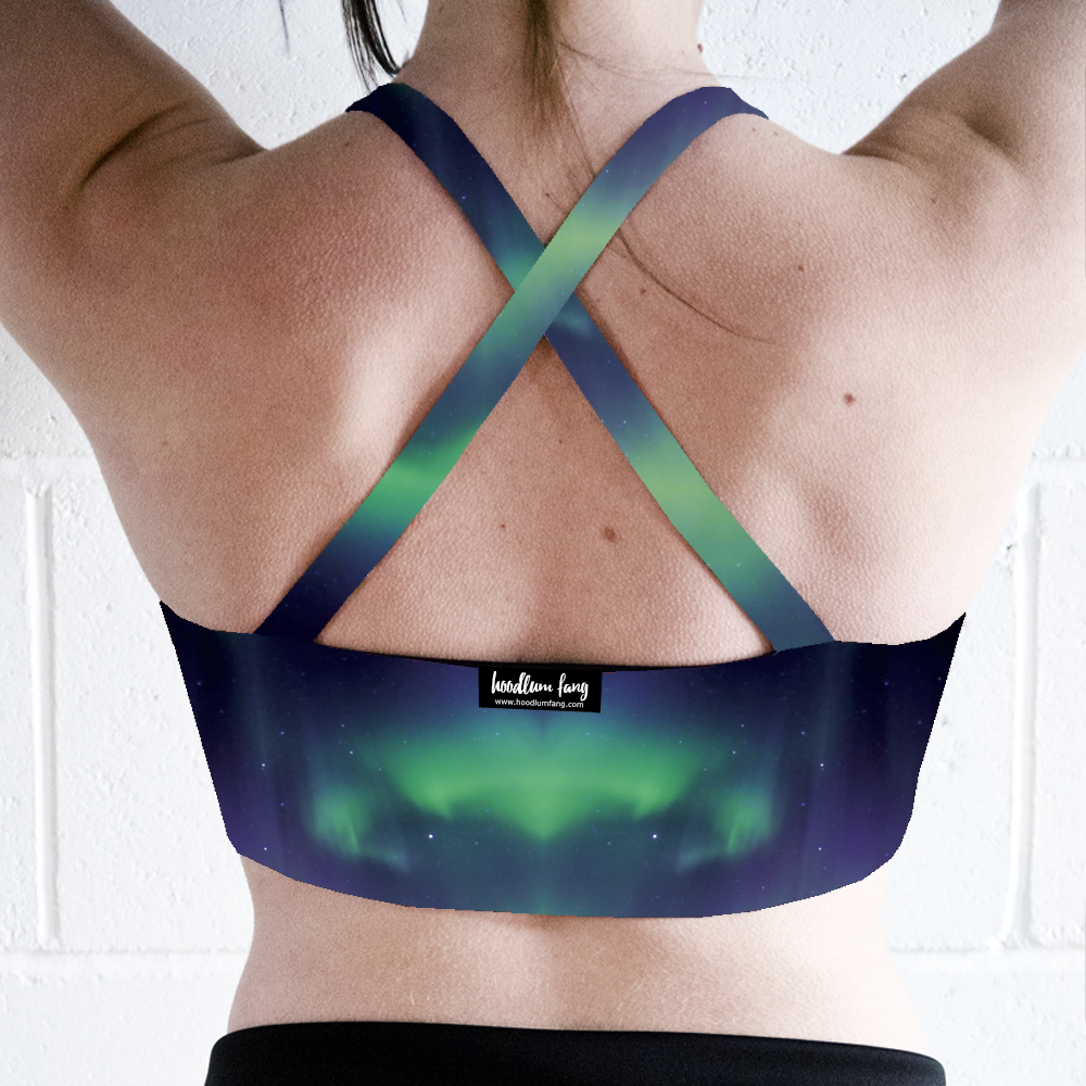 Image of Aurora Cross Back Crop Top
