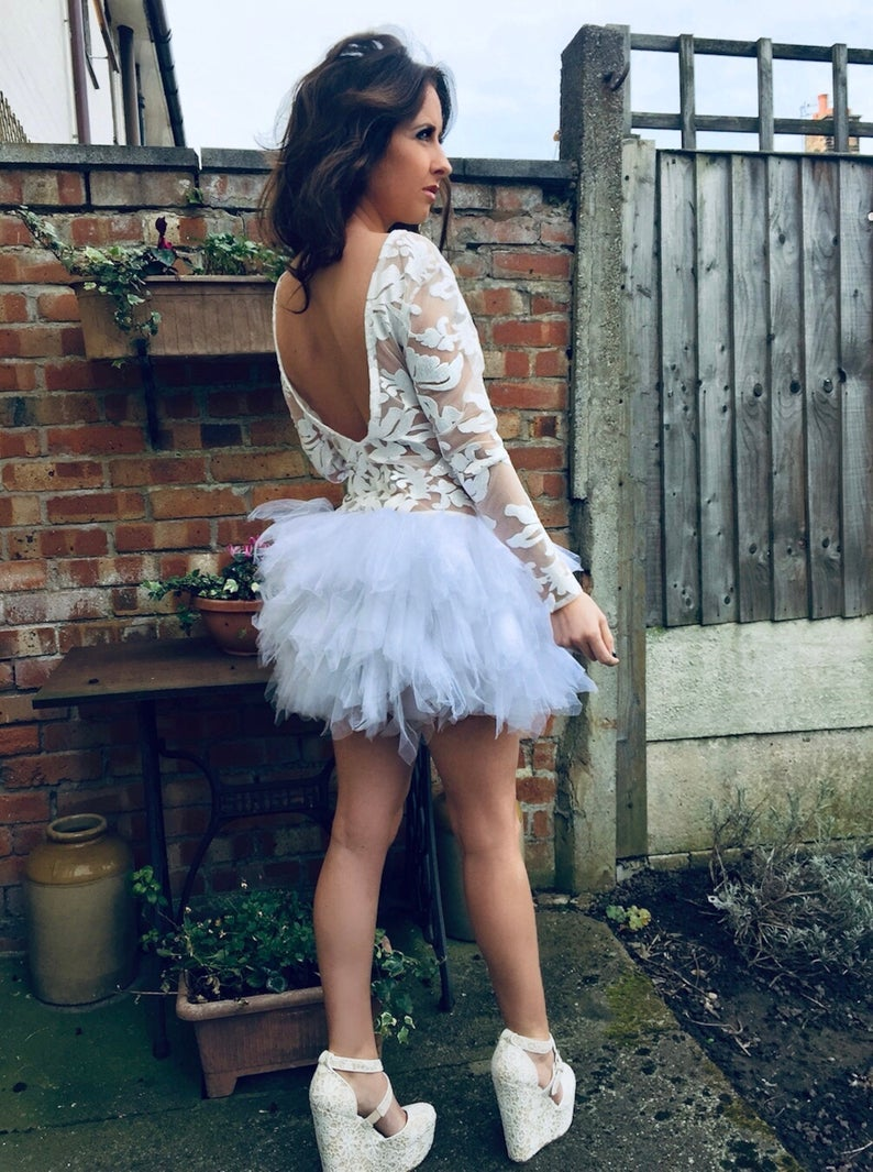Image of Swan Dress