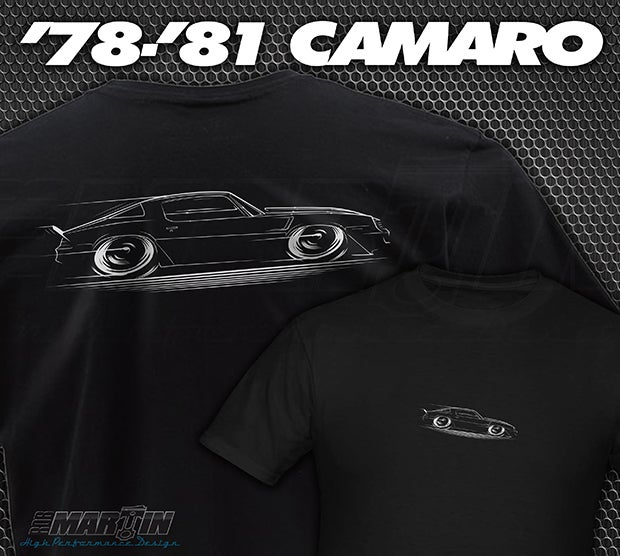 Image of '78-'81 Camaro T-Shirts Hoodies Banners