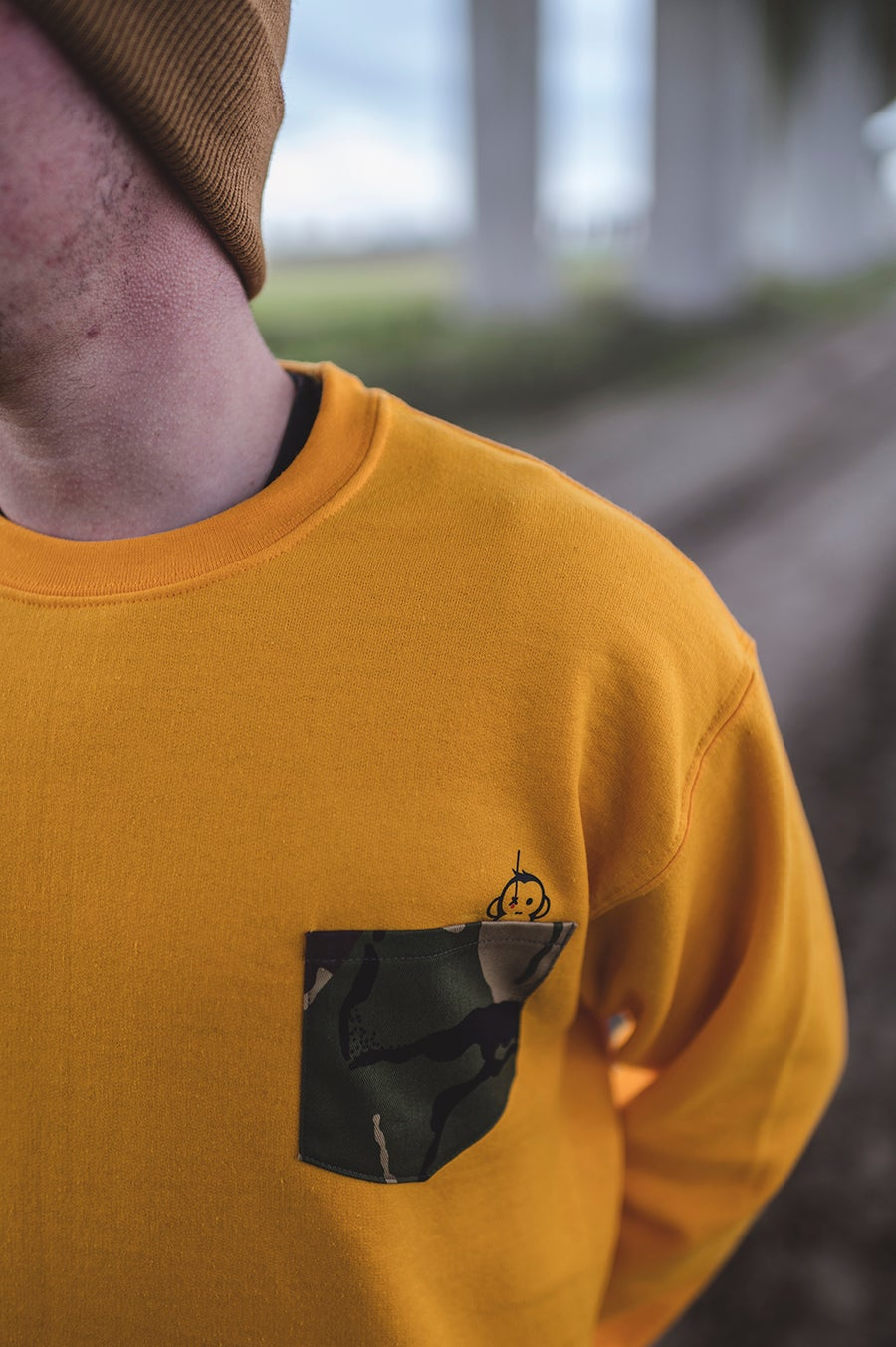 Image of Monkey Climber DPM Camou pocket crew I Yellow