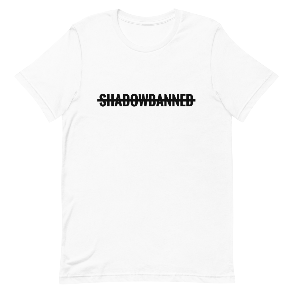 SHADOWBANNED Short-Sleeve Unisex T-Shirt