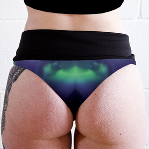 Image of Aurora High Waisted Twerk Thong Shorts