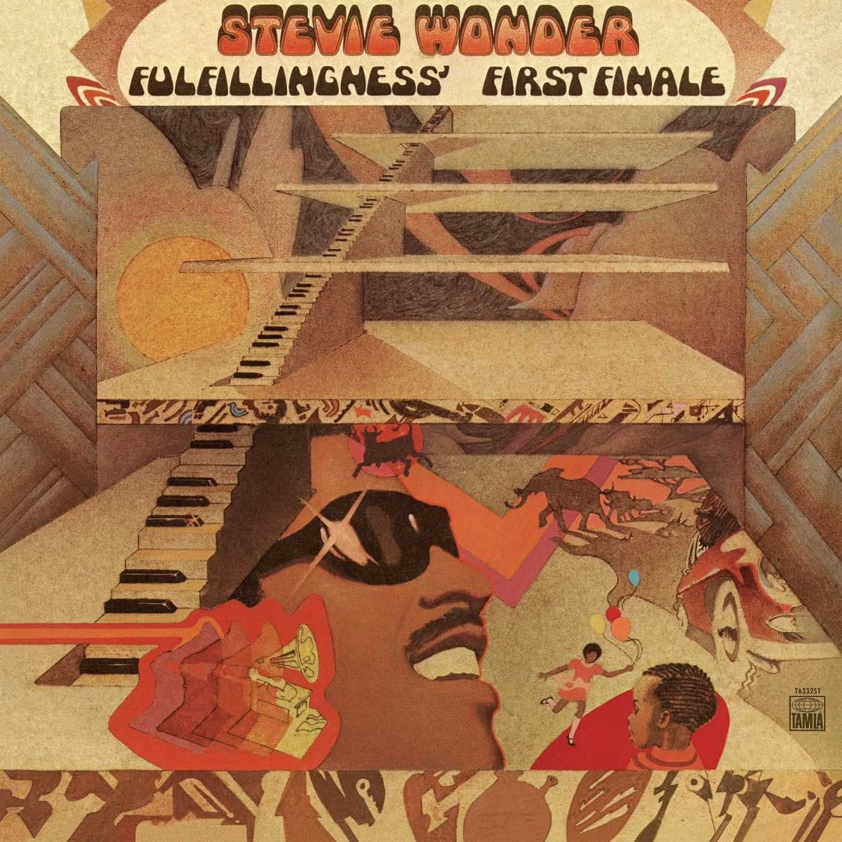 Image of Stevie Wonder - Fulfillingness' First Finale