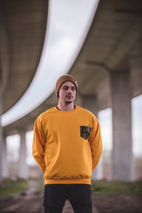 Image of Monkey Climber DPM Camou pocket crew I Yellow (other colours possible too)
