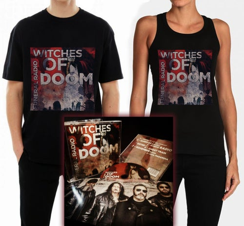 "Image of WITCHES OF DOOM ""Funeral Radio"" CD"