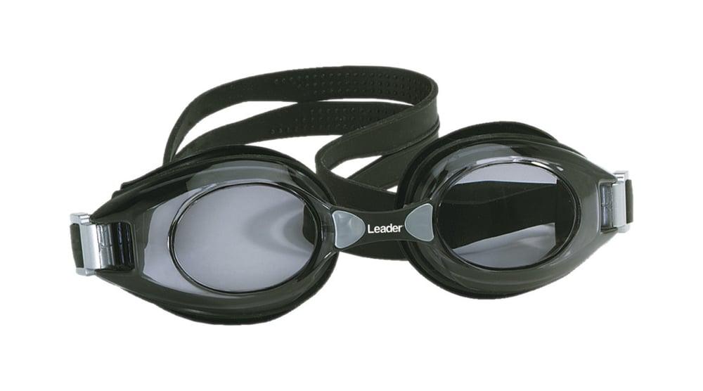 Image of Swim Goggles (Vuxen), med styrka -4/+8, Black