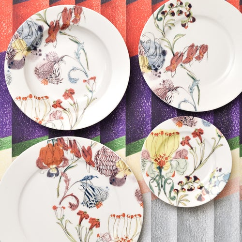 """Image of The Grandma's Garden Chop Plate """"A"""""""