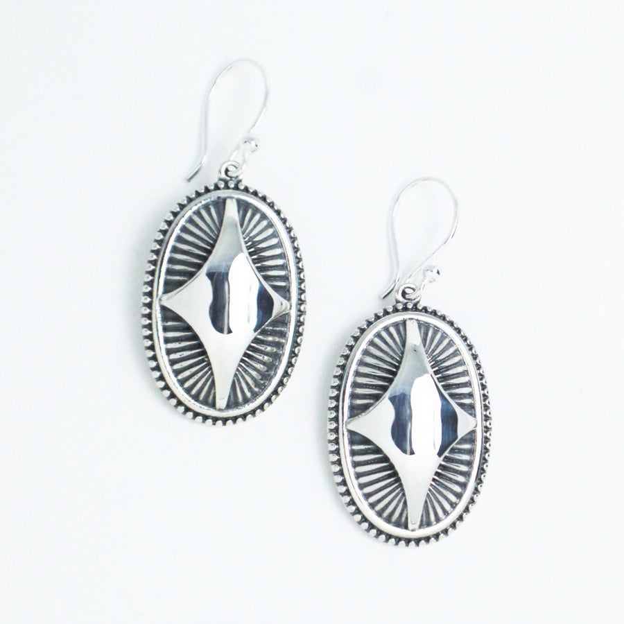 Image of Oval Dakota Dangles