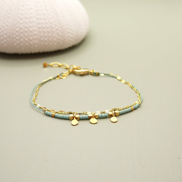 Image of Bracelet Romane Bleu