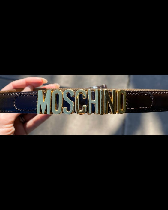 Image of Vintage Moschino Belt