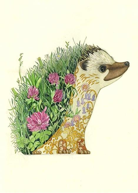 Image of Hedgehog Card