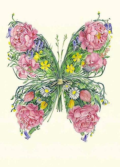Image of Butterfly Card