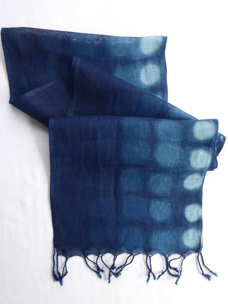 Image of Moon Ombre — Linen Scarf