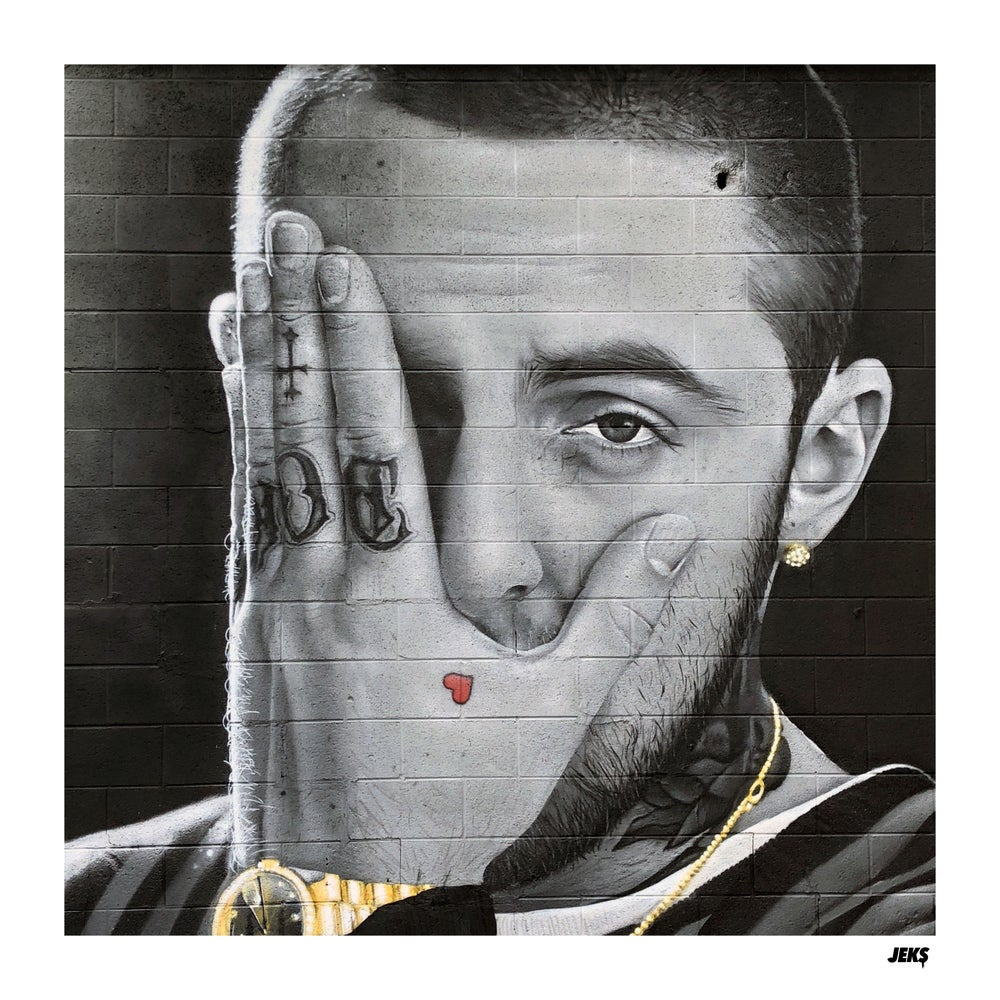Image of Limited Edition - Mac Miller Mural Print
