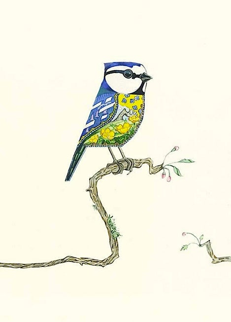 Image of Blue Tit Card
