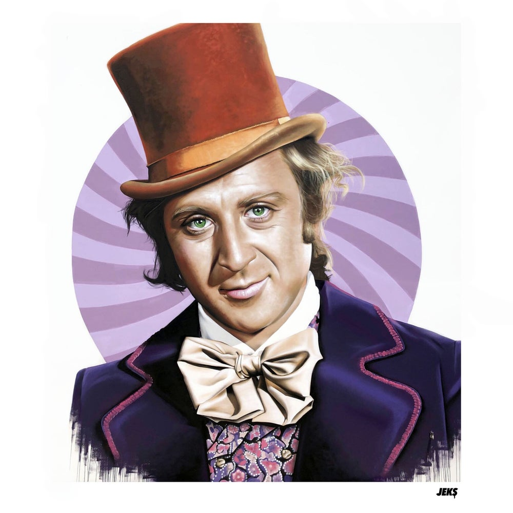 Image of Limited Edition - Gene Wilder OG Willie Mural