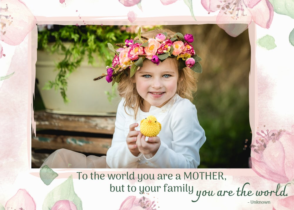 Image of Mother's Day Photoshop Template - Entire Set