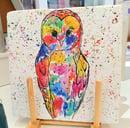 Image 1 of Rainbow Owl Stone Mats